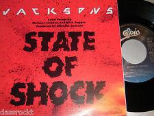 "7"" - Jacksons & Michael Jackson & Mick Jagger / State of Shock - MINT # 1462"