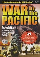War in the Pacific (DVD, 2 Discs) (24 Episodes) (WWII in the Pacific)