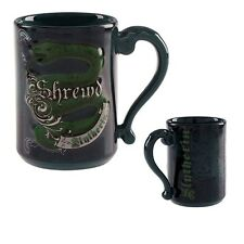Wizarding World Of Harry Potter Slytherin Shrewd Ceramic Coffee Mug Cup New