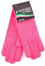$34 Isotoner SmarTouch Conductive Throughout Gloves Women's Pink Heather OS
