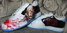 Custom Nike Air Force 1 Airbrush Shoes Sneaker Graffiti style Schuhe painted ny