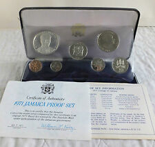 Jamaica 1971 De 7 Monedas Proof Set Plata-sealed/complete