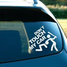 Hot SUV Body Door Fenders Windshield Funny Don't Touch My Car Reflective Sticker