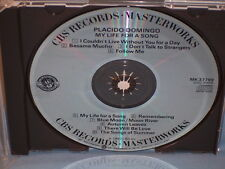 My Life For A Song By Placido Domingo 1983 CD CBS Masterworks Made In Japan