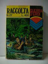 RACCOLTA GUERRA D'EROI N.27 [fumetto, n.27, 1977]