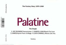 Palatine The Single Factory MCD 1991 -Facd304 JOY DIVISION JAMES MARCEL KING RAR