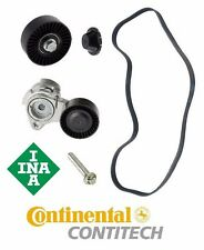 BMW E90 330i 2006 Belt Tensioner Kit Pulley Belt Bolt Tensioner INA/Continental