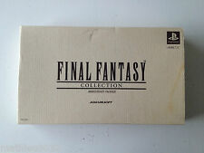 Final Fantasy Collection Anniversary Package collector Sony PS1 Playstation JAP
