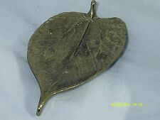 "Vintage VA. Metal Crafters-PAPER MULEBERRY LEAF-CW3-27 6""X 3 1/4""-Copyright 1948"