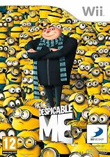 DESPICABLE ME FOR NINTENDO WII NEW & SEALED UK PAL VERSION