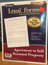 Agreement To Sell Personal Property Forms By Adams