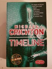 LIBRO MICHAEL CRICHTON - TIMELINE - BEST SELLER SUPER POCKET 2005