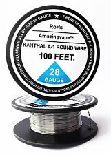 200 feet New Kanthal Wire 28Gauge,(0.32mm) 28AWG,A-1 Resistance Resistor AWG