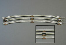 "LIONEL 027 TRACK 42"" DIAMETER CURVES gauge train 3 rail steel tubular 6-65049"
