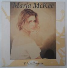 "Maria McKee To Miss Someone Single 7"" UK 1989"
