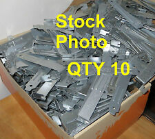 Mixed Lot 10 ISA AGP PCI-E PCI Slot Cover Filler Blank Case Blanks Used
