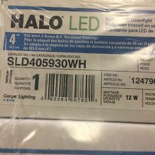 """Halo 4"""" Surface Mount LED Downlight - SLD405930WH - 65W Equivalent - 3000K"""