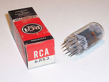 RCA 6AX3 Vacuum Tube Tested New Old Stock Free Shipping