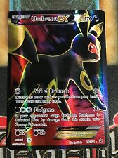 Pokemon Umbreon EX 119/124 XY Fates Collide Ultra Rare Full Art NM