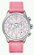 Versus by Versace Soho Original Women's Watch Pink+New battery