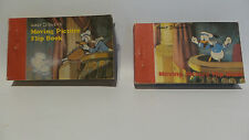 DISNEY : MOVING PICTURE FLIP BOOK SET - MICKEY MOUSE, DONALD DUCK, GIANT (MLFP)