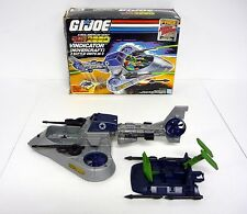 GI JOE VINDICATOR HOVERCRAFT Vintage Action Figure Vehicle COMPLETE w/BOX 1987