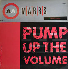 "MARRS - PUMP UP THE VOLUME 12"" MAXI LP (R176)"