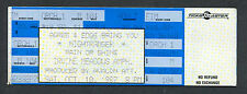 1987 Nightranger Unused Full Concert Ticket Irvine Meadows 7 Wishes