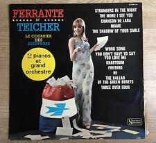"""33 tours Ferrante et Teicher """"Le courrier des auditeurs"""" sac courrier PTT EXC  *"""