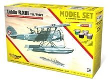 LUBLIN R-XIII TER/HYDRO POLISH FLOAT PLANE (GIFT SET) 1/48 MIRAGE (pzl)
