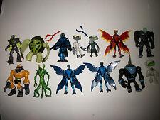 """Ben 10 Ten Alien Force Action Figure Original Bandai 4"""" Lot of 10 +"""
