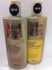 Duo provocare LIQUIDO BIONDA colore attivazione Shampoo & Balsamo INTENSE 200ml
