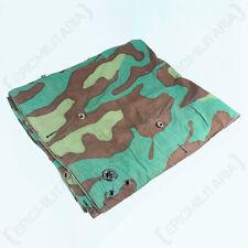 ORIGINAL ITALIAN ZELTBAHN PONCHO - Genuine Military Camouflage Shelter Basha