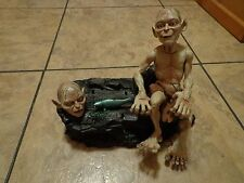 2003 TOY BIZ--THE LORD OF THE RINGS--ELECTRONIC TALKING GOLLUM FIGURE (LOOK)