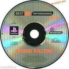 PlayStation 1 N-GEN RACING jeu video game courses SONY psx ps1 ps2 ps one testé