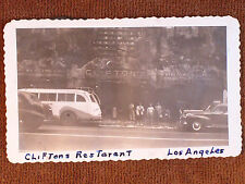 "Los Angeles CA/Van De Kamps Coffee Shop/1947 ""On the Road"" Car Window Snapshot"