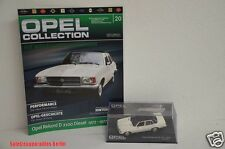 OPEL Collection Nr. 20 - OPEL REKORD D2100 DIESEL 1973 -77 1:43 + Heft in Box #