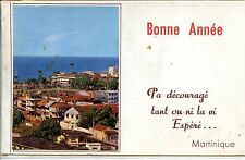 CP Martinique - Fort-de-France - Carte de voeux 2 volets