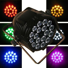 18x18W (324 Watt)  6in1 RGBWA + UV LED Par BLACK LIGHT for dj party 10CH