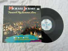 MICHAEL JACKSON LP FAREWELL MY SUMMER LOVE. N/M looks unplayed......33rpm / soul