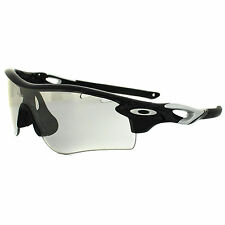 Oakley Sunglasses Radarlock Path 9181-36 Black Clear Black Iridium Photochromic