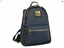 """$160 VINCE CAMUTO LOMA BACKPACK WOMEN BLUE """"THE LOMA COLLECTION"""" NWT Gold Stud"""