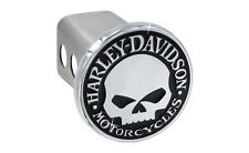 Harley-Davidson Willie G Skull Trailer Tow Hitch Cover Plug