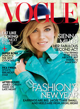 VOGUE January 2015,Sienna Miller,Kendall Jenner,James Corden,Jake Gyllenhaal NEW