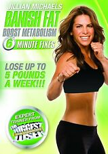 Jillian Michaels: Banish Fat, Boost Metabolism [DVD] NEU Fitness Workout