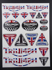 Motorrad aufkleber set 20 sticker speed triplec Daytona 675 tiger sprint
