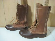Vintage Men's LL Bean Maine Hunting Shoe Winter Boot Size 11