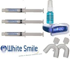 TEETH WHITENING KIT-LIGHT-30CC NON-PEROXIDE GEL+20CC STAIN REMOVAL -MADE IN USA-