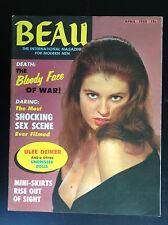 Rare Revue magazine Adult Beau April 1968 NU Erotisme ETAT NEUF