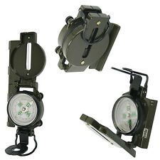Army Style Compass Tool Military Camping Hiking Survival Marching Metal Lensatic